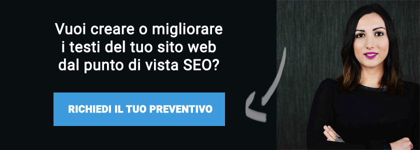 richiesta preventivo copywriter seo