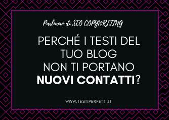 seo copywriting per blog testiperfetti